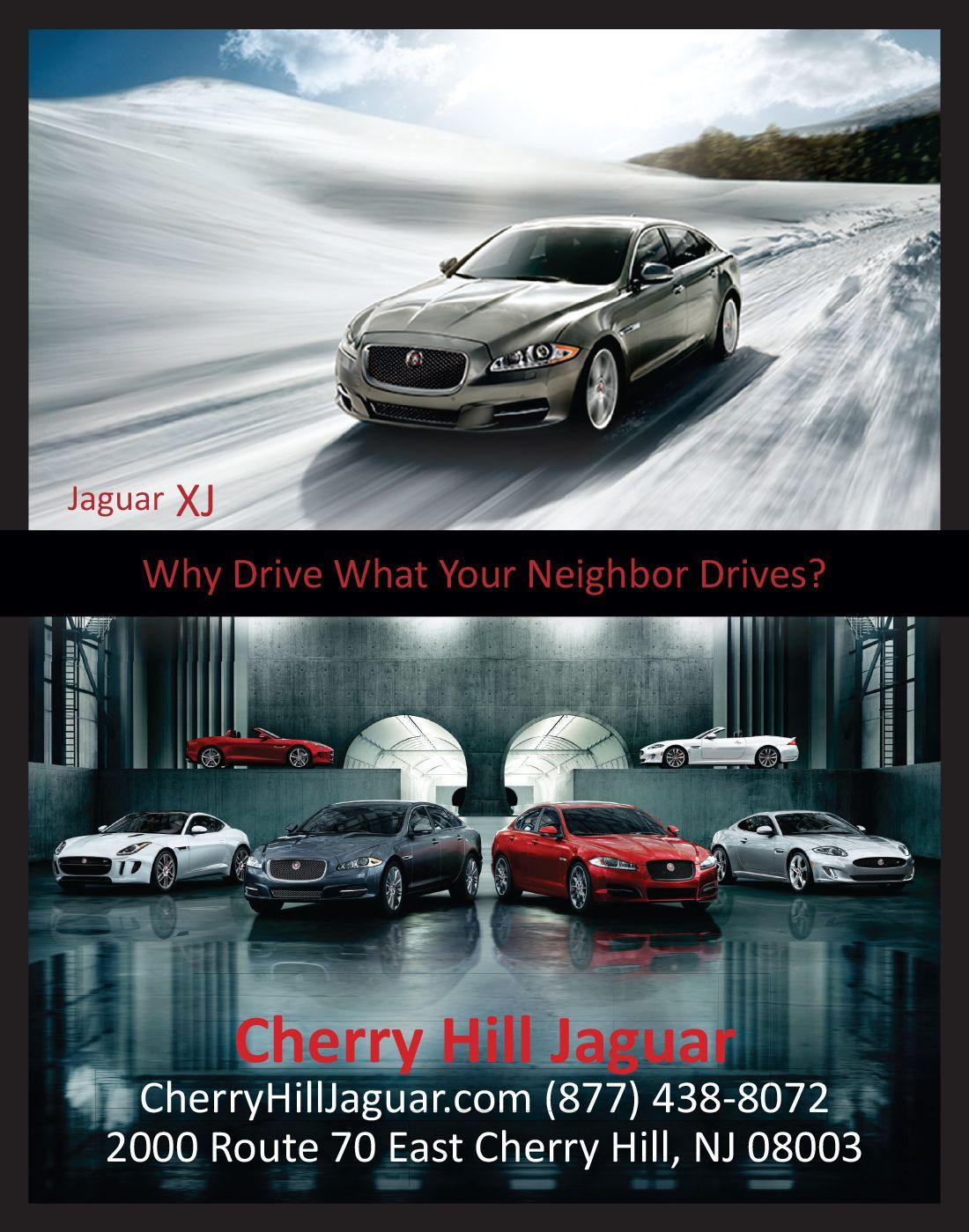 Cherry Hill Jaguar Magazine Ad 1 Compressor