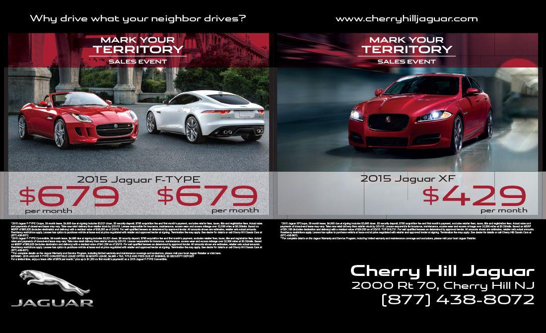 Cherry Hill Jaguar Magazine Ad 2 Compressor